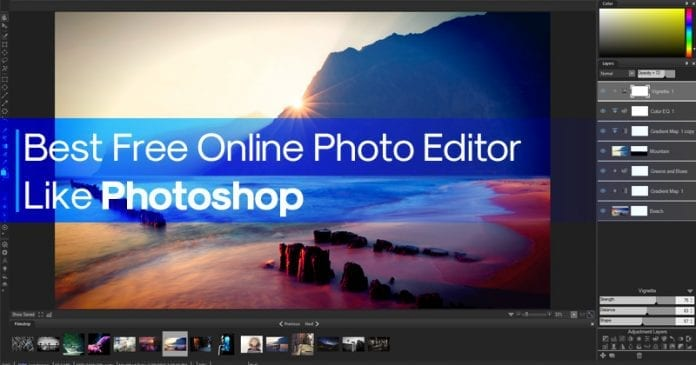 Best Free Online Photo Editor Like Photoshop 2019