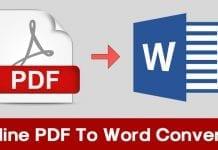 Top 10 Best Online PDF To Word Converter 2019