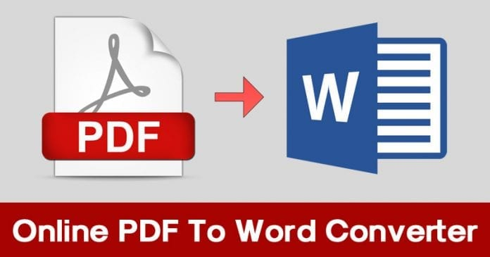 Top 10 Best Online PDF To Word Converter 2019