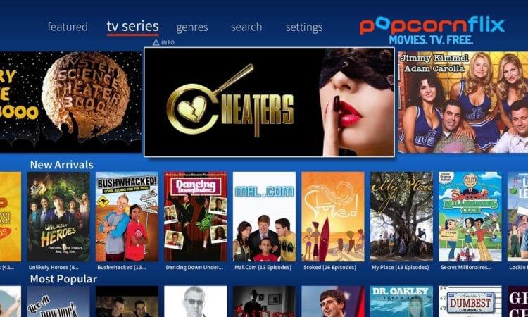 PopcornFlix - 13 Best Sites To Watch Free TV Shows Online 2019