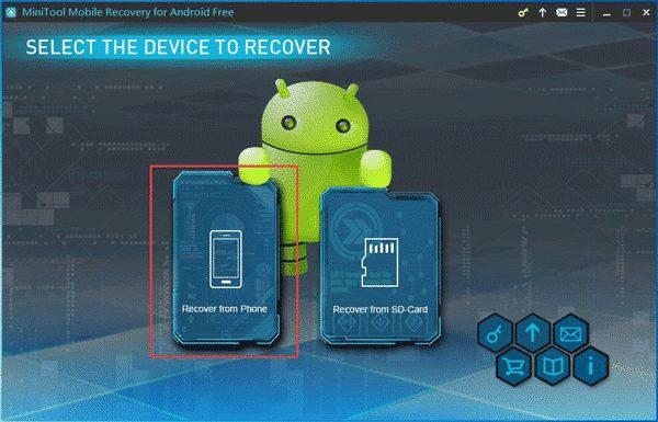 install Minitool Android Data Recovery