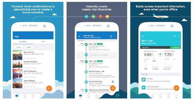 Tripit - Android Travel App