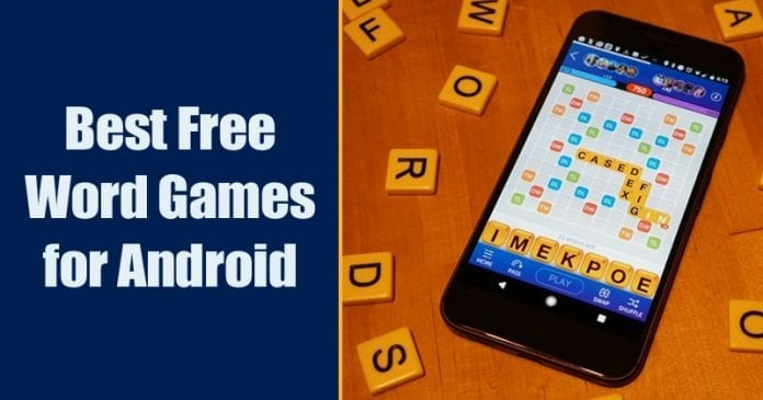 10 Best Free Word Games For Android You Should Play