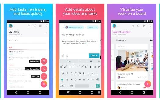 Asana - Top 10 Best To-Do List Apps For Android 2019