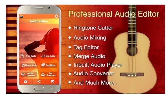 Aplikasi Cara Buat Nada Dering di Hape Android - Audio MP3 Cutter