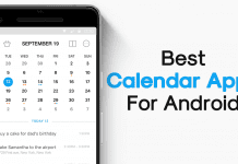 Top 10 Best Calendar Apps For Android 2019