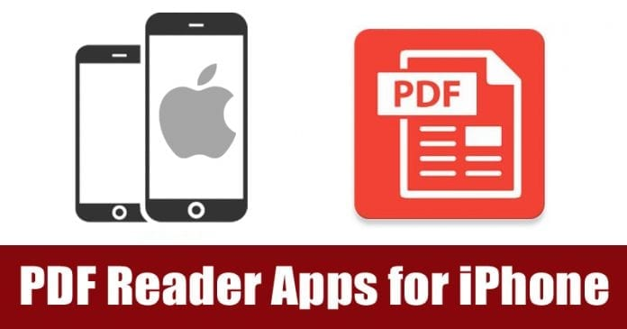 Top 8 Best PDF Reader Apps for iPhone 2019