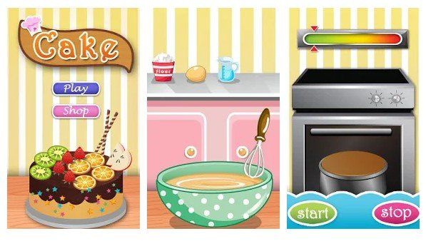 Cake Now - Top 10 Best Cooking Games For Your Android Smartphone