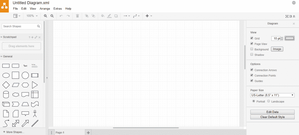Draw.io  1024x464 - 10 Best Free Alternatives To Microsoft Visio