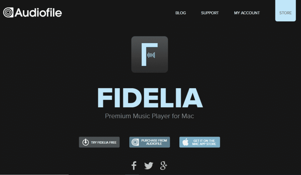 Fidelia 1024x597 - Top 10 Best Music Players For MAC (2019 List)