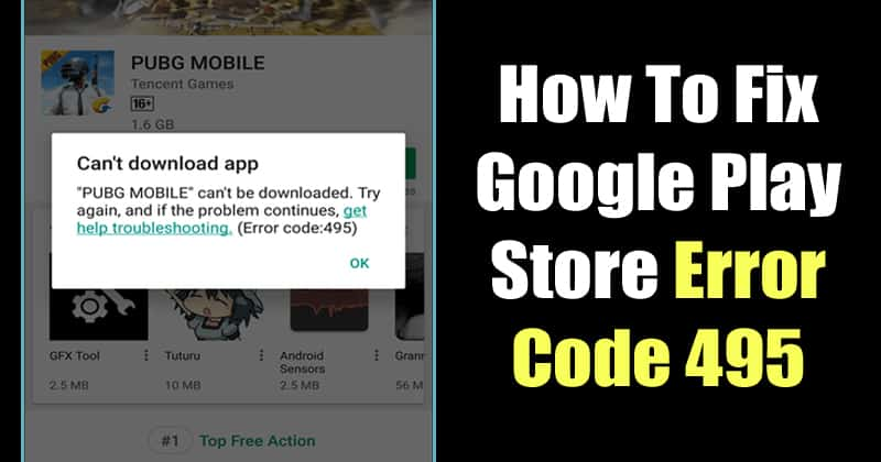 download from google play store error