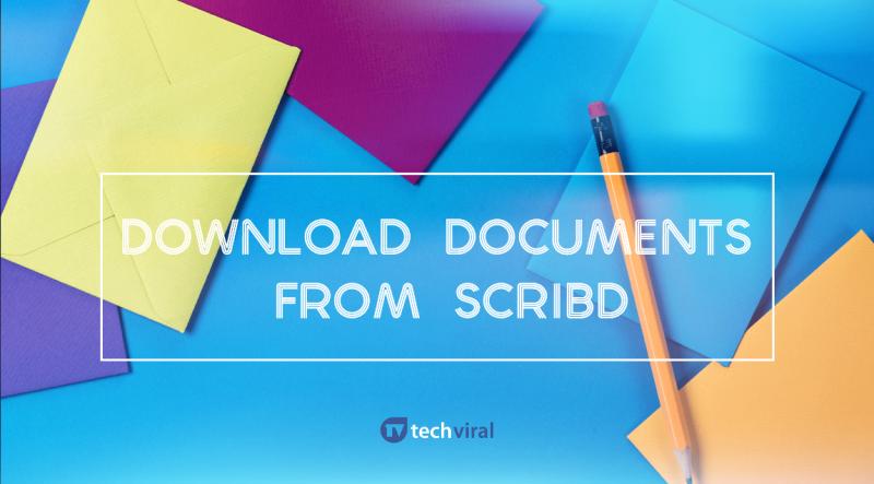 Download pdf from scribd free