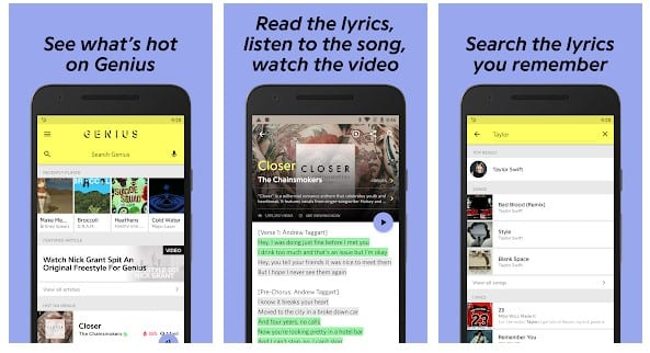 Lyrics Apps For Android