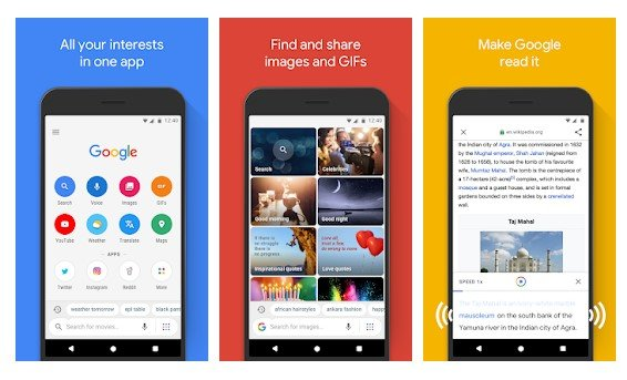 Google Go - Top 8 Best Lightweight Browsers for Your Android Device