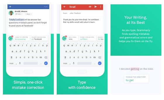 Grammarly Keyboard: Best Swiftkey Alternatives For Android