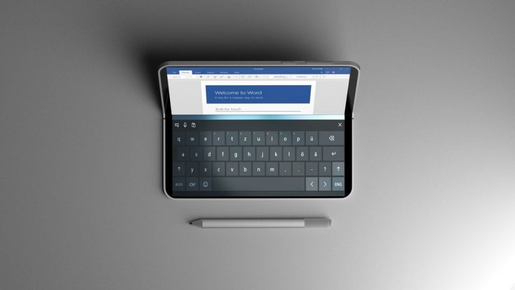 IMG 1 1 1024x576 - Meet The Microsoft's All-New Dual Screen Foldable Device