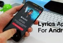 Top 8 Best Lyrics Apps For Android 2019