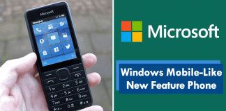 Meet Microsoft's Windows Mobile-Like New Feature Phone