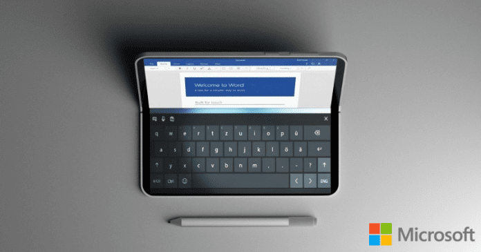 Meet The Microsoft's All-New Dual Screen Foldable Device