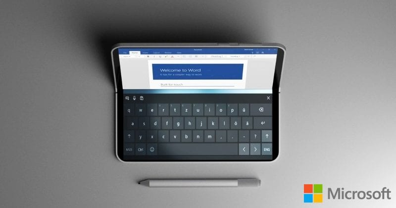Microsoft Surface Centaurus could be a revolutionary dual-screen tablet