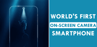 Meet The World's First On-Screen Camera Smartphone