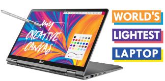Meet The World's Lightest Laptop