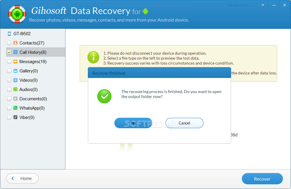 Android Data Recovery works great! It's so lucky for me to get help from this professional data recovery tool for Android devices and recovered lots of precious photos. It's so lucky for me to get help from this professional data recovery tool for Android devices and recovered lots of precious photos.
