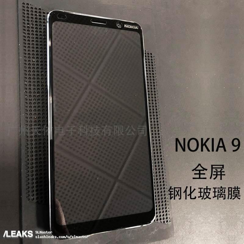 Nokia 9 - Nokia 9 Real-Life Photo Leak Tips Front Display Design
