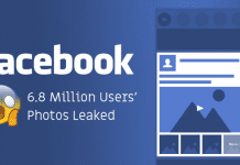 OMG! This New Facebook Bug Exposed 6.8 Million Users Private Photos