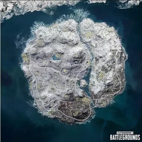 There are three islands in Vikendi