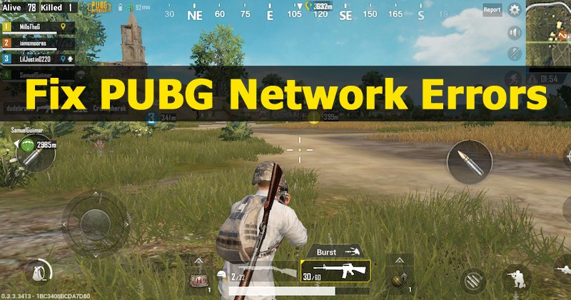 Pubg Mobile Internet Error Message On Android Ios: How To Fix 'Network Lag Detected' Error On PUBG Mobile