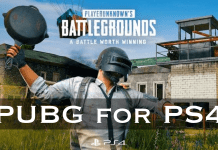 PUBG for Ps4