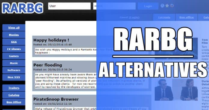 RARBG Alternatives: 10 Best Working Torrent Sites