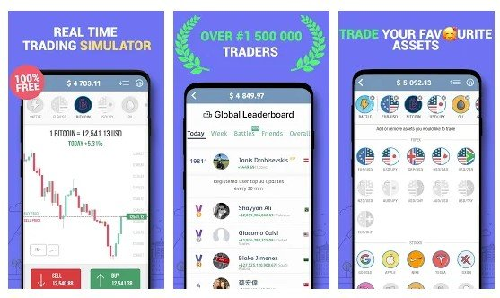 Trading Game - Forex & Stock Market Investing