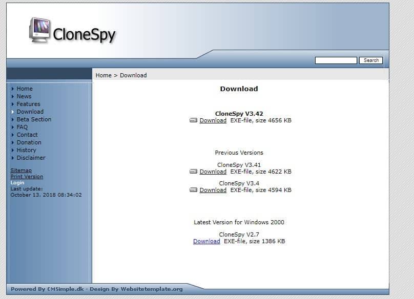 Using CloneSpy