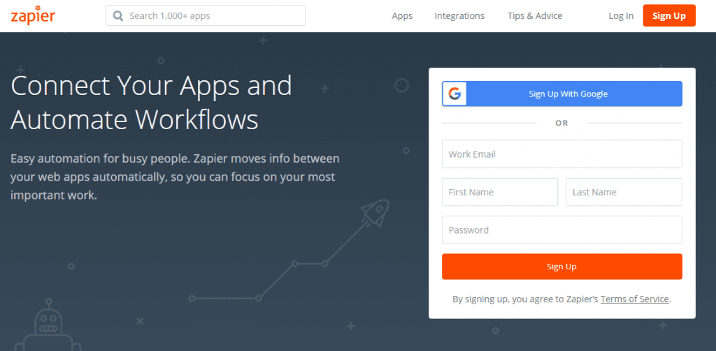 Zapier 1024x503 - IFTTT vs Zapier: What's the Difference?