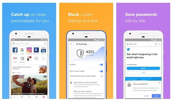 Android adblock browser