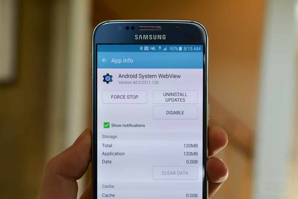 What is Android WebView?