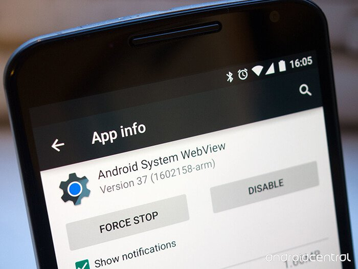 Do we need Android System WebView?