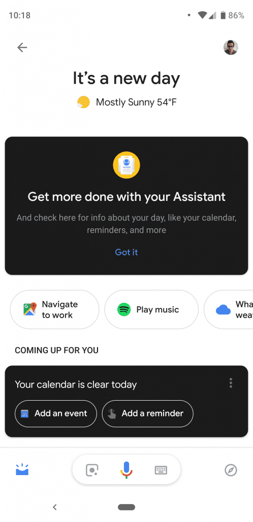 Google Assistant 1 498x1024 - Google Assistant Redesign Now Rolling Out