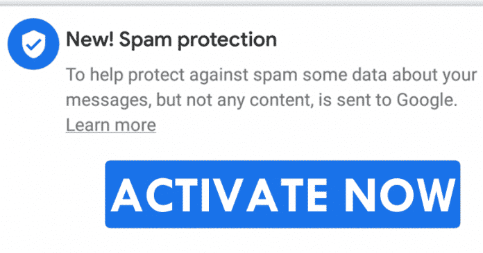 How To Activate The New Spam Protection Feature On Any Android Device