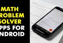 Top 8 Best Math Problem Solver Apps For Android