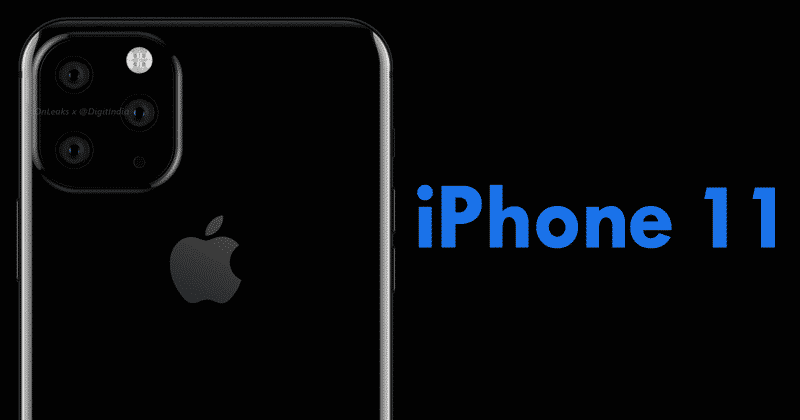 Apple iPhone XI to come with three cameras on back