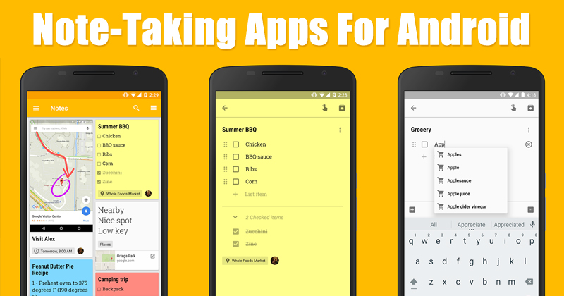acca462e9 Top 15 Best Note-Taking Apps For Android 2019