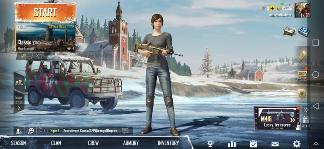 Optimize PUBG Mobile For Notched Smartphones