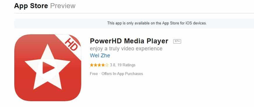 PowerHD Media Player