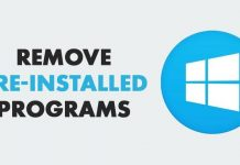 How To Remove Pre-installed and Suggested Apps In Windows 10