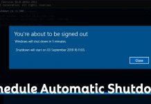 How to Schedule a Shutdown in Windows 10 PC