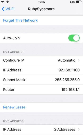 Step 2 iPhone IP - How To Find Your IP Address On Your Smartphone (Android & iPhone)