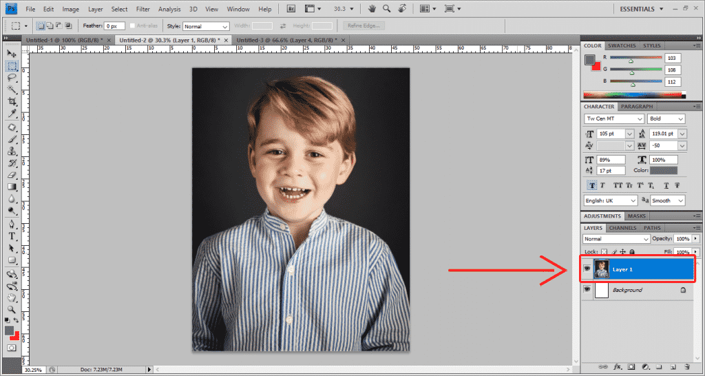 Step 4 Photoshop 1024x546 - How To Apply A Photo Filter In Adobe Photoshop